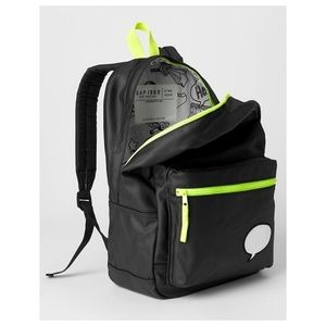 b0b81dbc4866 GAP Accessories - GAP Kids Black xED Customizable BACKPACK Full Size
